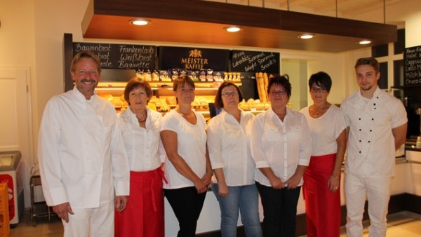 Das Team des Cafe Dünisch